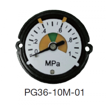 Integral pressure gauge (for MPa)